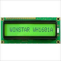16x1 Character LCD Display