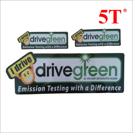 Printed Reflective PVC Stickers