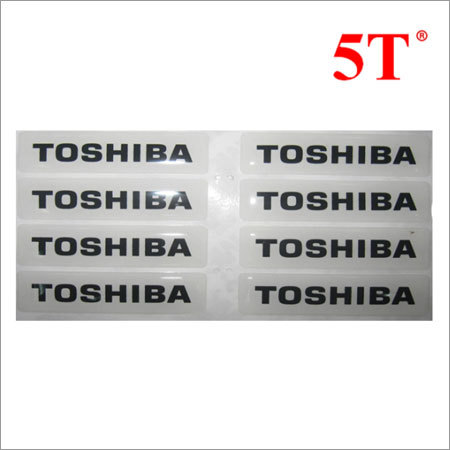 Promotional 3D Epoxy Resin Stickers