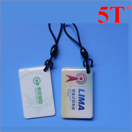 Glossy Epoxy Resin Printed Hang Tags