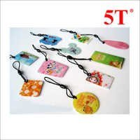 Glossy Epoxy Resin Promotional Hang Tags