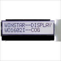 16x2 COG Monochrome LCD Display Module