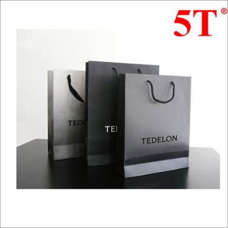 Printed Paper Shopping Handle Bag