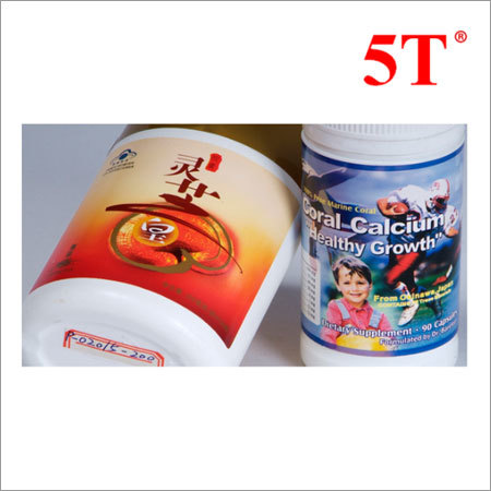 Promotional In-moulding Plastic Adhesive Labels