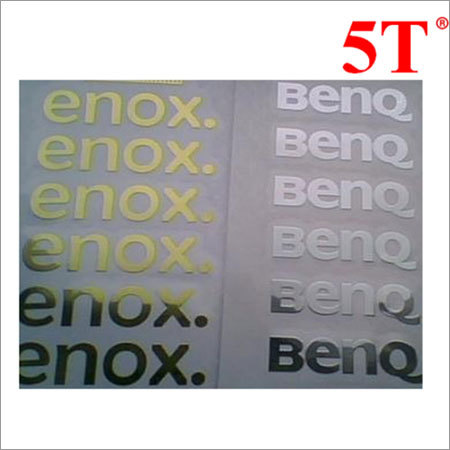 Printed Metal Stickers
