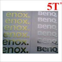 Printed Metal Stickers