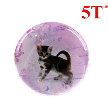 Cat Epoxy Sticker