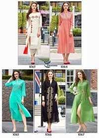 Priya Textiloe Design Awasome Georgette Kurti