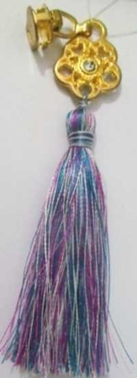 Purple Monochrome Pullar Tassel