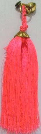 Pink Puller Tassel
