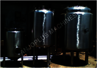 SYRUP STORAGE INSULATED TANK