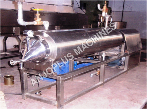 ROTARY SCRAPE SURFACE PULP PASTEURIZER