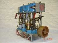 Model Of Compound Steam Engine