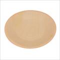 7 inch Round Wooden Plate