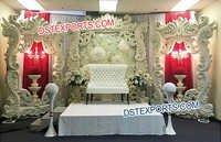 Wedding Stage Latest Backdrop Frames