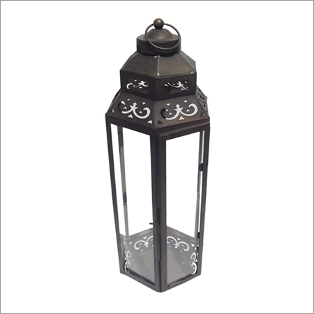 Decorative Metal And Glass Lanterns