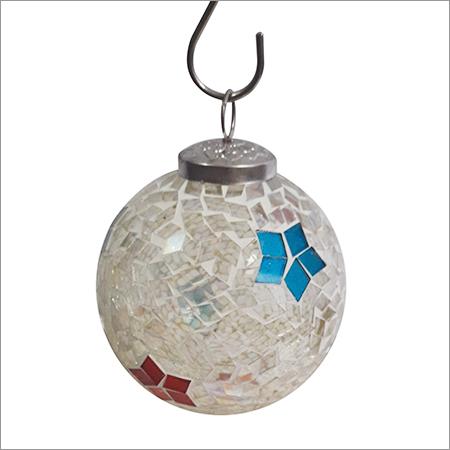 Christmas Mosaic Hanging Ball