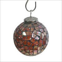Mosaic Glass Hanging Ball