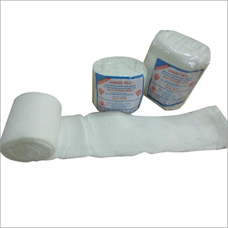Gauze Cotton Gamjee Roll