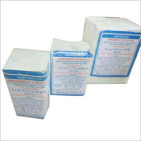 Non Sterile Absorbent Gauze Swabs