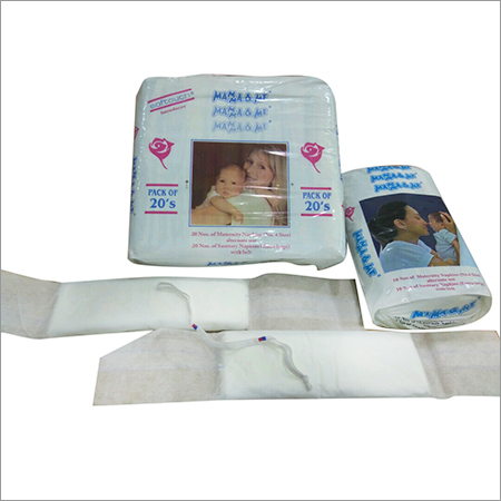 Maternity Napkins With Belt