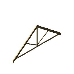 King Post Truss Model