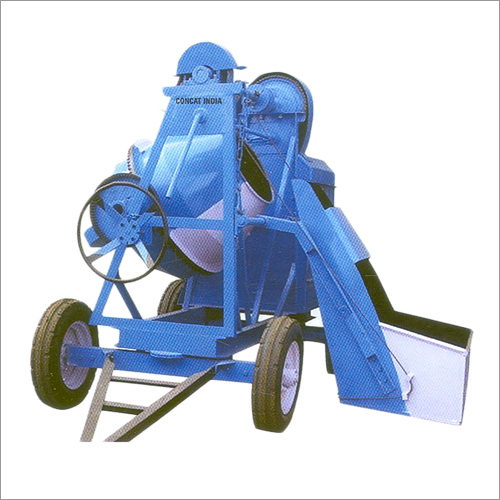 10-7 CFT Concrete Mixers-With Hopper