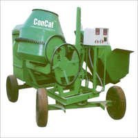 10-7 CFT Concrete Mixers-With Hydraulic Hopper & Control Panel