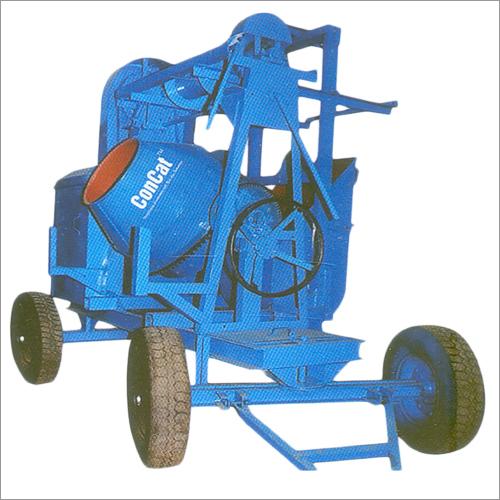 10-7 CFT混凝土搅拌机流动卷扬机2腿类型