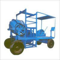 10-7 CFT Concrete Mixers Mobile Hoist 4 Leg Type