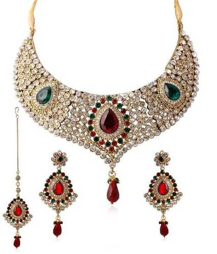 Traditional Choker Kundan Necklace Set