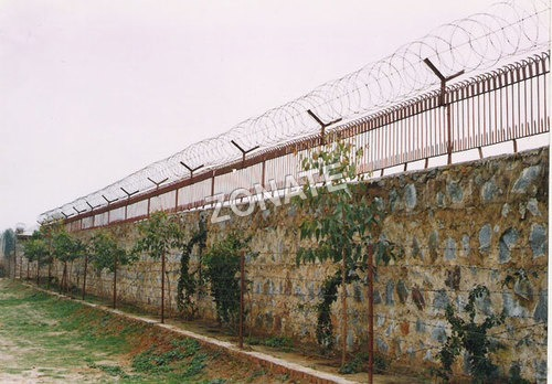 Crossed Razor Wire
