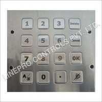 Electronic Vandal Resistant Metal Keypad