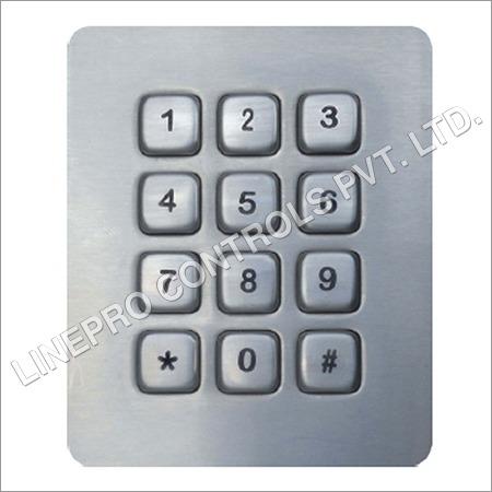 Vandal Resistant Metal Keypad