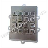 16 Keys Metal Keypad