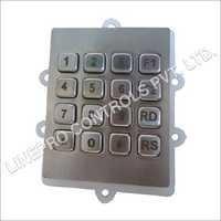 16 Keys Metal Keypad