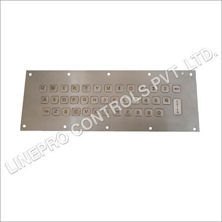 Vandal Resistant Metal Keyboard