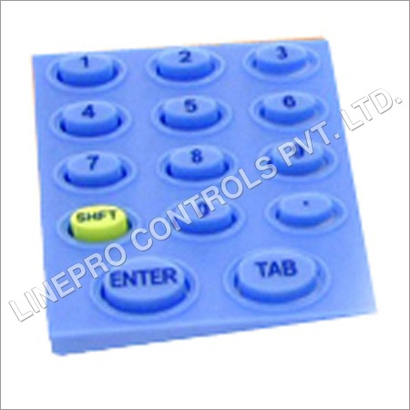 Industrial Silicone Rubber Keypad
