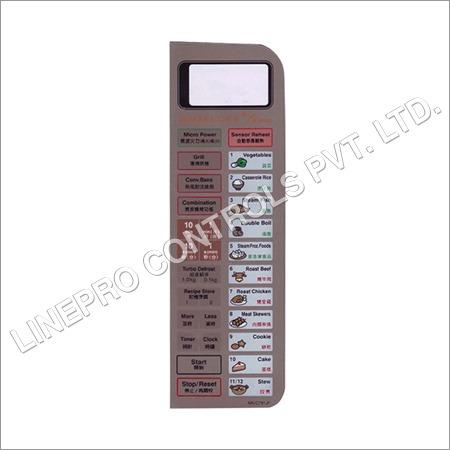 Microwave Oven Membrane Keypad