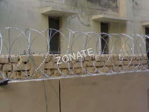 Reinforced Punched Tape Concertina Wire