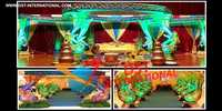 Wedding Fiber Morni Mandap