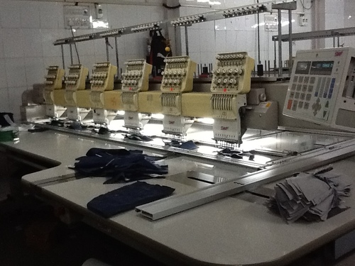 Used SWF Embroidery Machine