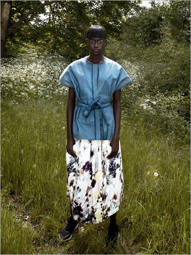 Ladies Digital Print Skirt