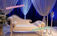 Wedding Italian Love Seat Sofa