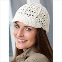 Hand Knitted Ladies Cap