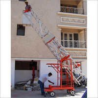Aluminium Tiltable Floating Platform Ladder