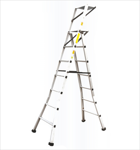 ALUMINIUM FACTORY STEP SELF SUPPORTING LADDER