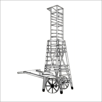 ALUMINIUM TELESCOPIC TOWER LADDER