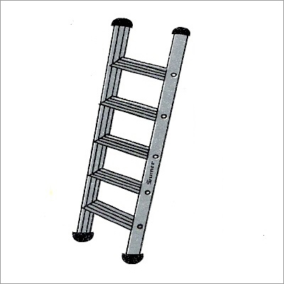 ALUMINIUM WALL SUPPORTING SINGLE LADDER