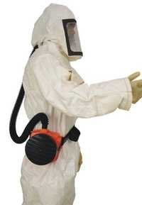 Powered Air Purifying Respirators (PAPR)PAPR with Tychem F Suit